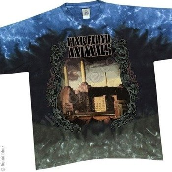 koszulka PINK FLOYD - BATTERSEA STATION barwiona