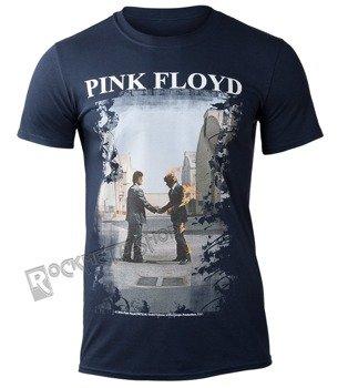 koszulka PINK FLOYD - BURNING MAN NAVY