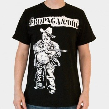 koszulka PROPAGANDHI - COWBOY (BLACK)