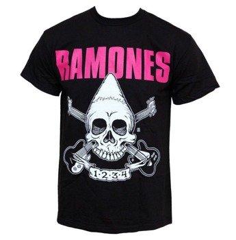 koszulka RAMONES - PINHEAD SKULL