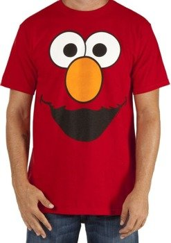 koszulka SESAME STREET - ELMO FACE RED