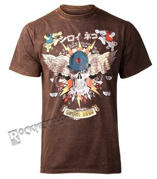 koszulka SHIROI NEKO - HELLOWEN (BROWN VINTAGE)