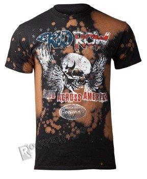koszulka SKID ROW - SKIDS X AMERICA, barwiona