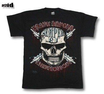 koszulka SKULBONE - DEATH BEFORE