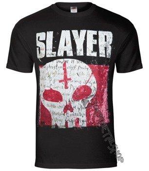 koszulka SLAYER - UNDISPUTED ATTITUDE SKULL