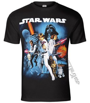 koszulka STAR WARS - SPACE MONTAGE 2