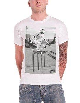 koszulka STAR WARS - STORM TROOPER SKATER