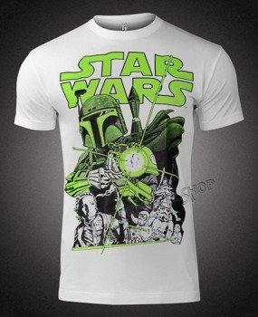 koszulka STAR WARS - VINTAGE BOBA FETT