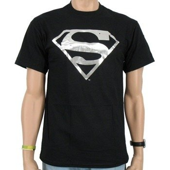 koszulka SUPERMAN - SILVER FOIL LOGO