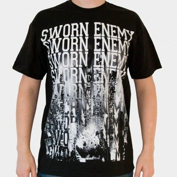 koszulka SWORN ENEMY - DESTROY (BLACK)