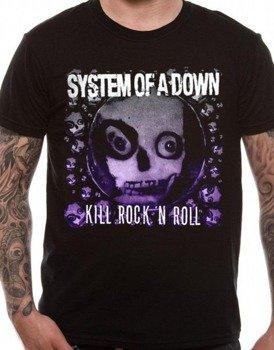 koszulka SYSTEM OF A DOWN - DEATH TO ROCK 'N ROLL
