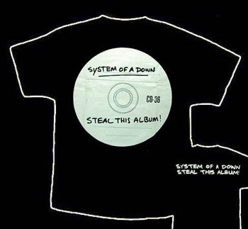 koszulka SYSTEM OF A DOWN - STEAL THIS ALBUM
