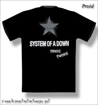 koszulka SYSTEM OF A DOWN - TOXIC TWINS