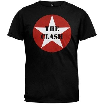 koszulka THE CLASH - STAR LOGO