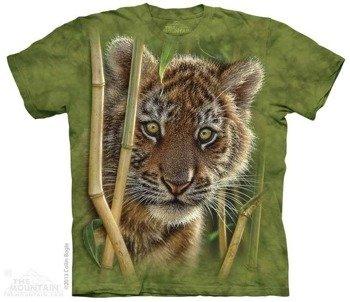 koszulka THE MOUNTAIN - BABY TIGER, barwiona
