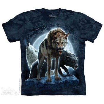 koszulka THE MOUNTAIN - BAD MOON WLLVES, barwiona