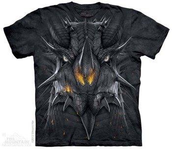 koszulka THE MOUNTAIN - BIG FACE DRAGON, barwiona