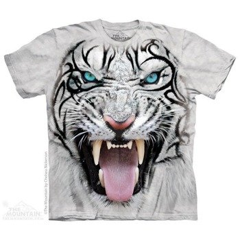 koszulka THE MOUNTAIN - BIG FACE TIGER, barwiona