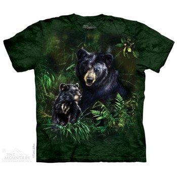 koszulka THE MOUNTAIN - BLACK BEAR CUB, barwiona