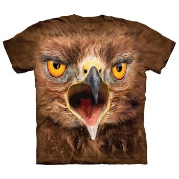 koszulka THE MOUNTAIN - CRAZY HAWK, barwiona