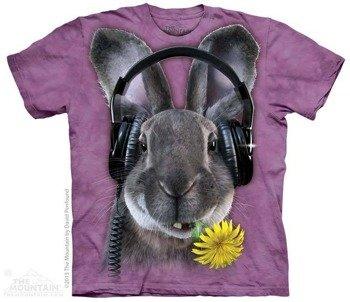 koszulka THE MOUNTAIN - DJ HIPHOP, barwiona