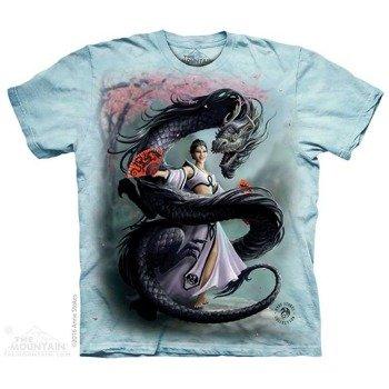 koszulka THE MOUNTAIN - DRAGON DANCER, barwiona