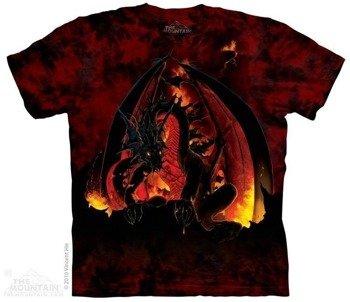 koszulka THE MOUNTAIN - FIREBALL, barwiona