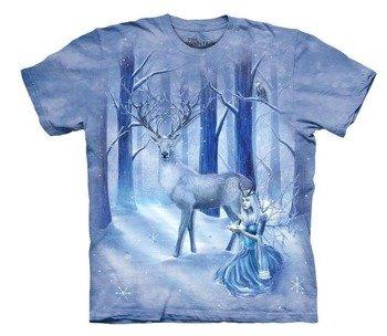 koszulka THE MOUNTAIN - FROZEN FANTAZY, barwiona