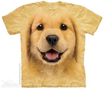 koszulka THE MOUNTAIN - GOLDEN RETRIEVER, barwiona
