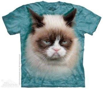 koszulka THE MOUNTAIN - GRUMPY CAT, barwiona