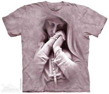 koszulka THE MOUNTAIN - IN PRAYER, barwiona