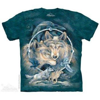 koszulka THE MOUNTAIN - IN SPIRIT I AM FREE, barwiona
