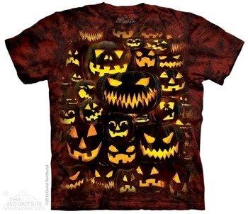 koszulka THE MOUNTAIN - JACK O LANTERN WALL, barwiona