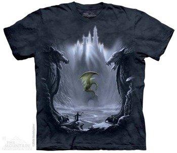 koszulka THE MOUNTAIN - LOST VALLEY, barwiona