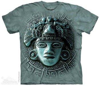 koszulka THE MOUNTAIN - MAYAN MANDALA, barwiona