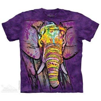koszulka THE MOUNTAIN - RUSSO ELEPHANT, barwiona