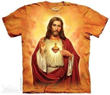 koszulka THE MOUNTAIN - SACRED HEART, barwiona