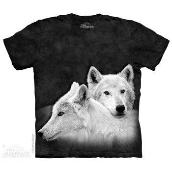koszulka THE MOUNTAIN - SIBLINGS WOLVES, barwiona