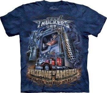 koszulka THE MOUNTAIN - TRUCKERS, barwiona