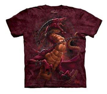 koszulka THE MOUNTAIN - UNCHAINED DRAGON, barwiona