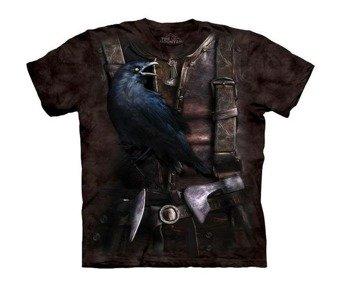 koszulka THE MOUNTAIN - VIKING RAVEN, barwiona