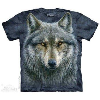 koszulka THE MOUNTAIN - WARRIOR WOLF, barwiona