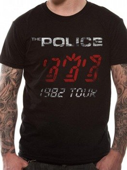 koszulka THE POLICE - WORLD TOUR