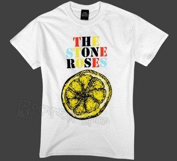 koszulka THE STONE ROSES - LEMON MULTICOLOUR biała
