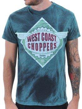 koszulka WEST COAST CHOPPERS - FURIOUS TEE FURIOUS BLUE