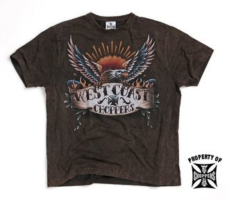 koszulka WEST COAST CHOPPERS - TATTOO vintage