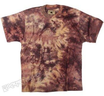 koszulka barwiona RUNNING BEAR / BROWN
