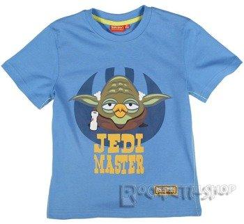 koszulka dziecięca ANGRY BIRDS STAR WARS - JEDI MASTER