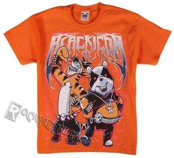 koszulka dziecięca BLACK ICON - BLACK METAL MASCOT