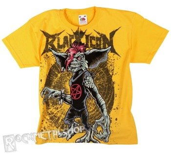 koszulka dziecięca BLACK ICON - GREMLIN (JICON024 YELLOW)